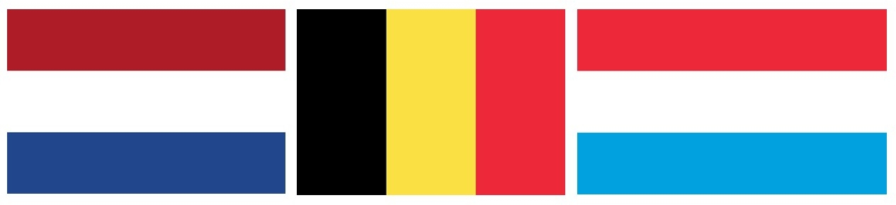 NETHBELGLUX FLAGS